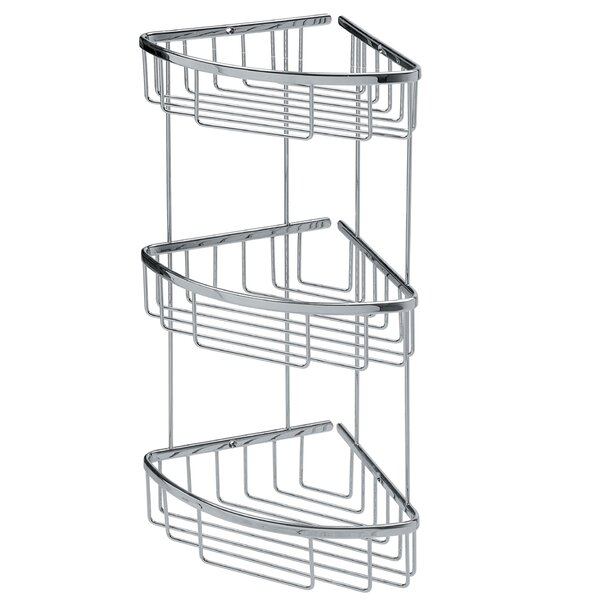 Filo Triple Shower Caddy by WS Bath Collections