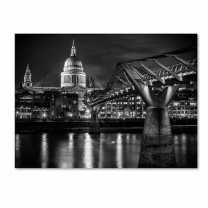 Letters From London by Giuseppe Torre Photographic Print on Wrapped Canvas by Trademark Fine Art