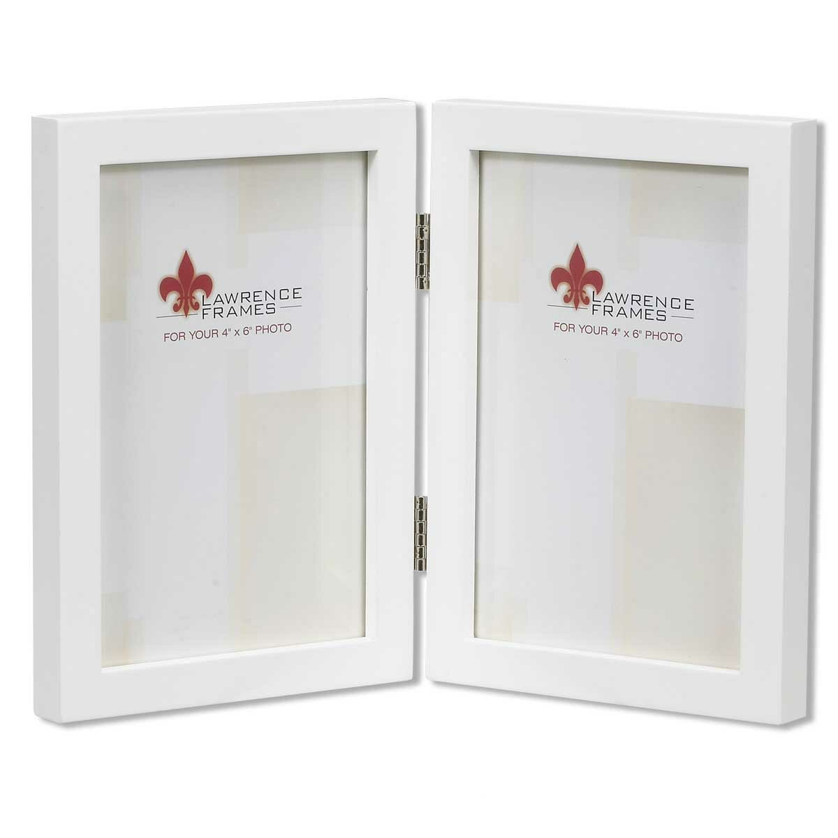 Lawrence Frames Gallery Hinged Double Picture Frame | Wayfair