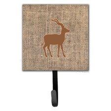 Deer Wall Hook by Caroline's Treasures