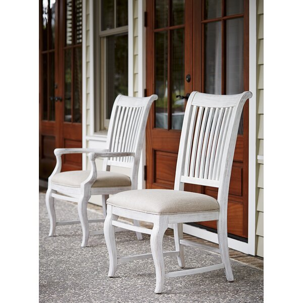 Eoin Arm Upholstered Dining Chair (Set of 2) by Ophelia & Co.
