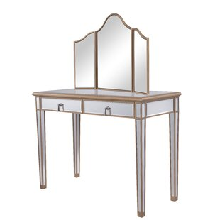 Superieur Miguel Table Vanity With Mirror