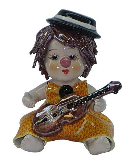 Zampiva Authentic Shelf Clown with Mystic Violin Figurine by Three Star Im/Ex Inc.