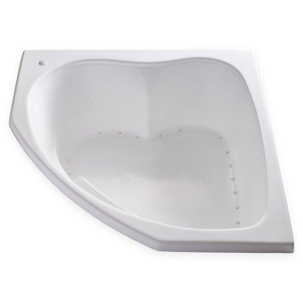 Hygienic Air 55 x 55 Bathtub by Carver Tubs