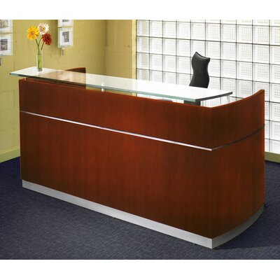 save to idea board mahogany napoli rectangular reception desk
