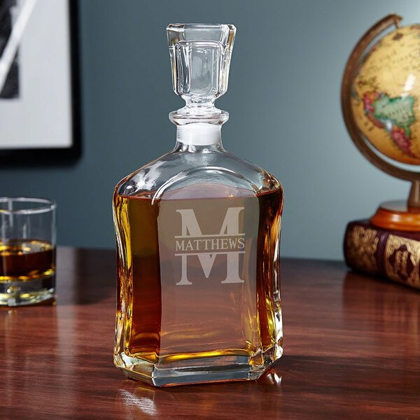 Kaity Custom 23 oz. Decanter by Darby Home Co