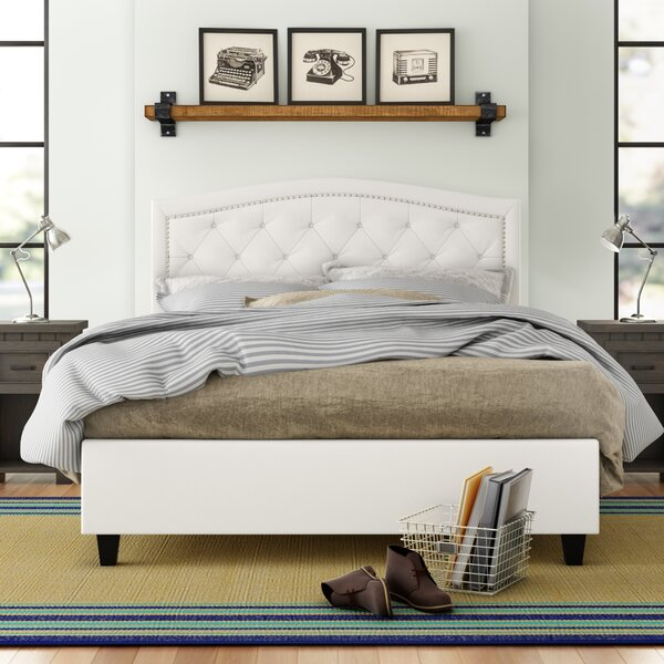 Searcy Upholstered Platform Bed by Three Posts Teen