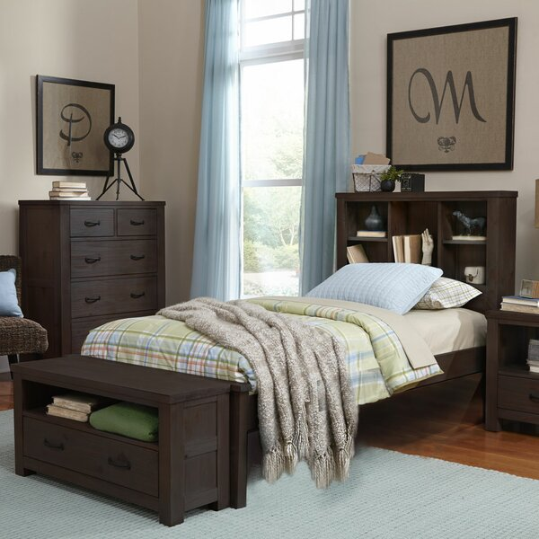Timberville Platform Bed with Bookcase by Greyleigh