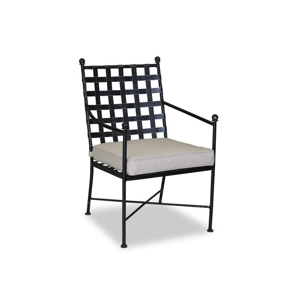 Provence Patio Dining Chair with Cushion by Sunset West