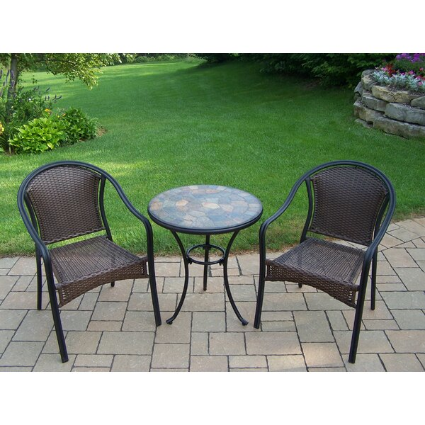 Stone Art 3 Piece Dining Set by Oakland Living