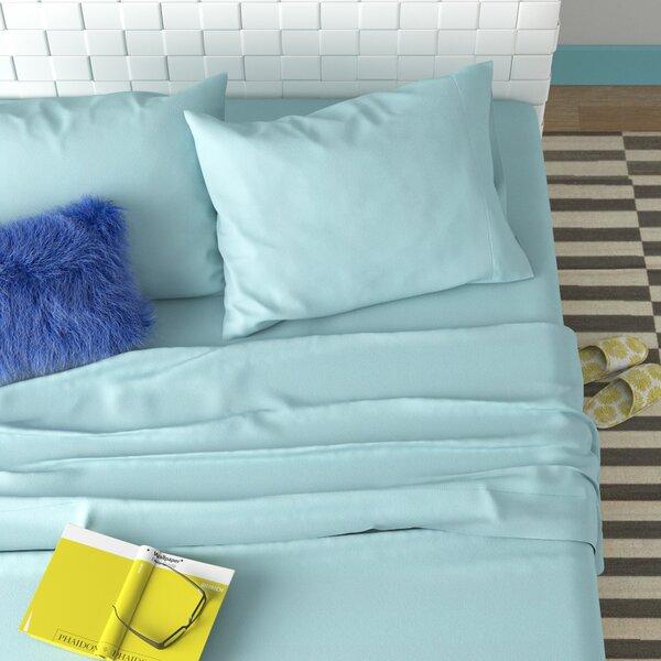 Wayfair Basics 100% Cotton Flannel Sheet Set