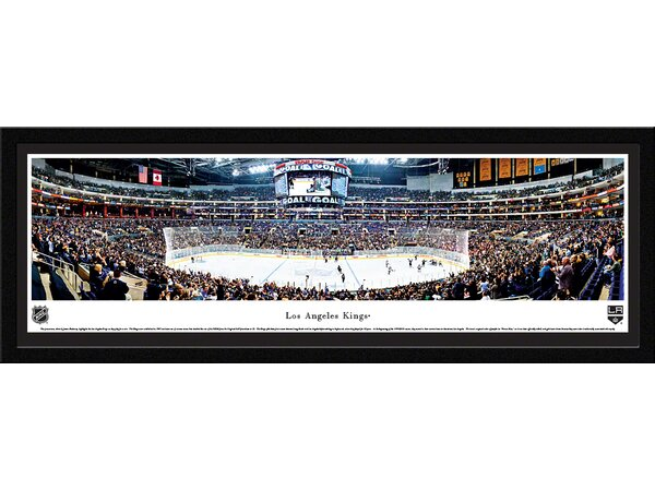 NHL Los Angeles Kings by James Blakeway Framed Photographic Print by Blakeway Worldwide Panoramas, Inc