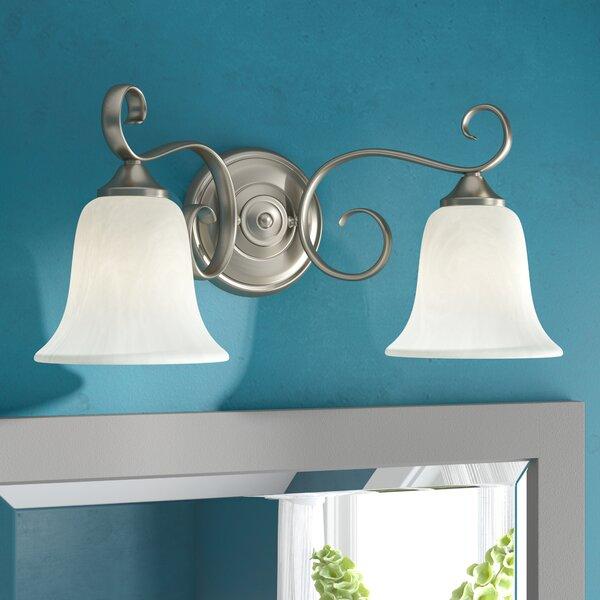 Patricia 2-Light Vanity Light by Fleur De Lis Living