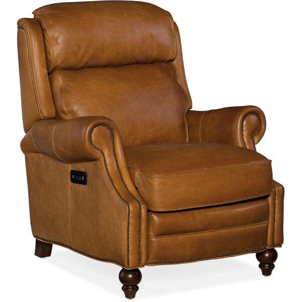 Fifer Leather Power Recliner by Hooker Furniture