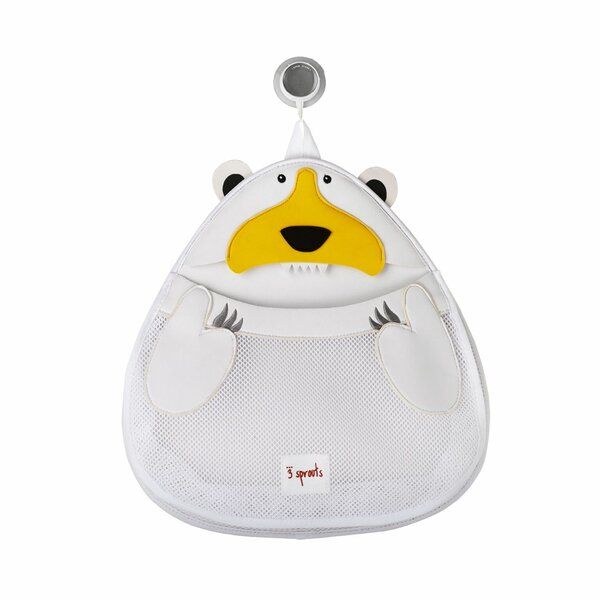 Polar Bear Shower Caddy by 3 Sprouts