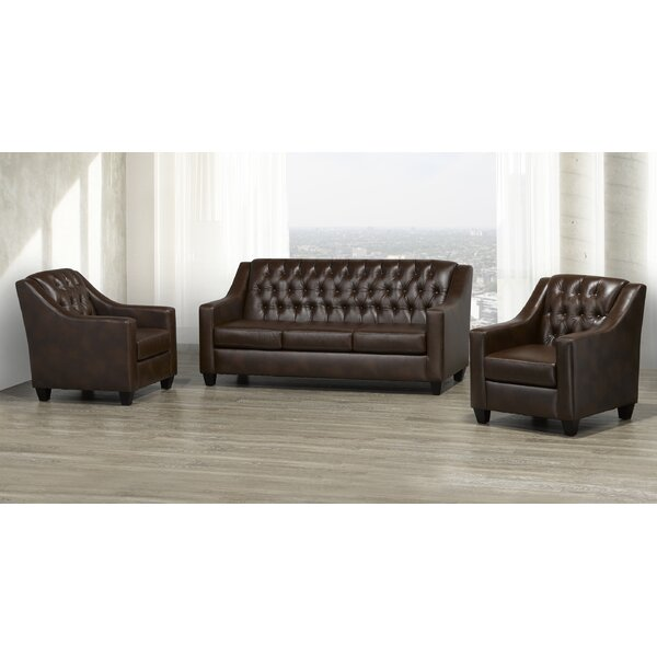 Debolt 3 Piece Living Room Set by Darby Home Co Darby Home Co