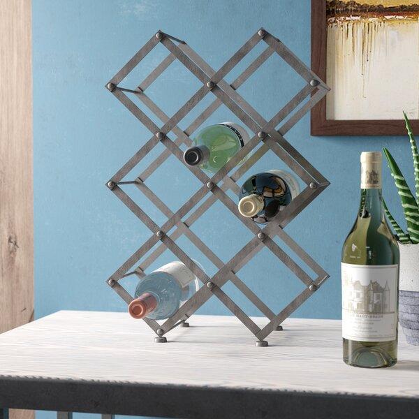 Elmhurst 9 Bottle Floor Mounted Wine Rack by Trent Austin Design