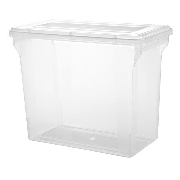 Scrapbook File Box (Set of 4) by IRIS USA, Inc.