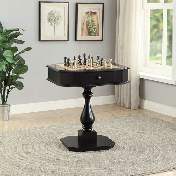 28 Kase Chess Table by Darby Home Co28 Kase Chess Table by Darby Home Co