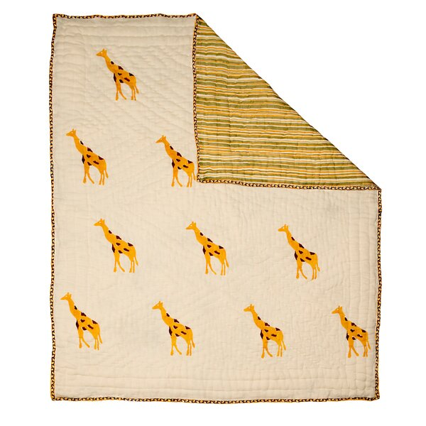 Giraffe Quilt by Naaya by Moonlight
