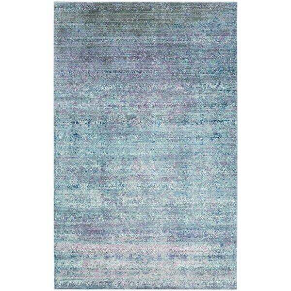 Mulhall Purple/Blue Area Rug by Brayden Studio