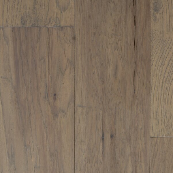 Oslow 7 Engineered Hickory Hardwood Flooring in Ivory by Branton Flooring Collection
