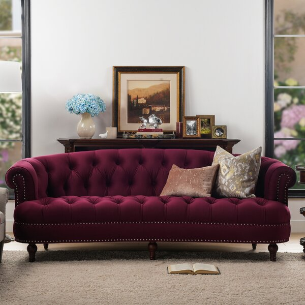 Expert Reviews Mowry Chesterfield Sofa by House of Hampton by House of Hampton