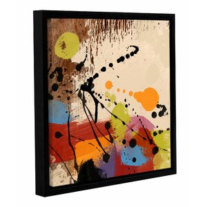 'Cross Roads II' Framed Painting Print on Wrapped Canvas by Langley Street
