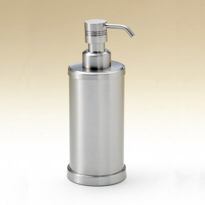 Round Brass Countertop Soap Dispenser by Toscanaluce by Nameeks