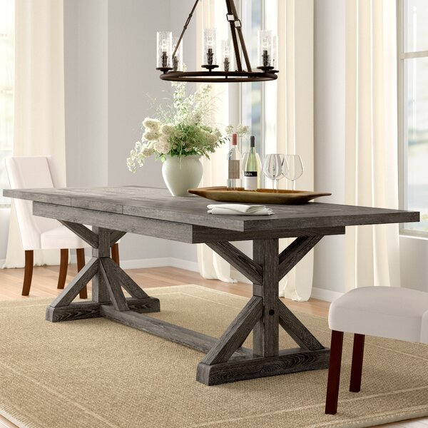 Dumfries Extendable Dining Table by Three Posts Three Posts