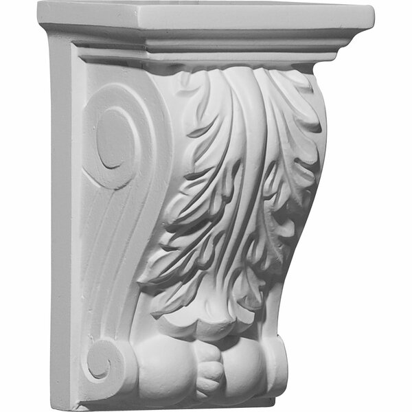 Legacy Acanthus 5 7/8H x 3 7/8W x 2 3/4D Corbel by Ekena Millwork