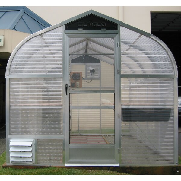 7.75 Ft. W x 7.5 Ft. D Greenhouse by Sunglo Greenhouses