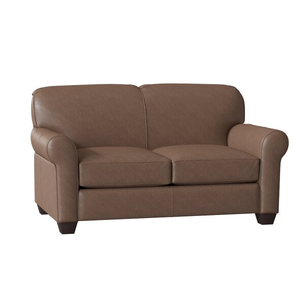 Price Check Jennifer Leather Loveseat by Klaussner Furniture