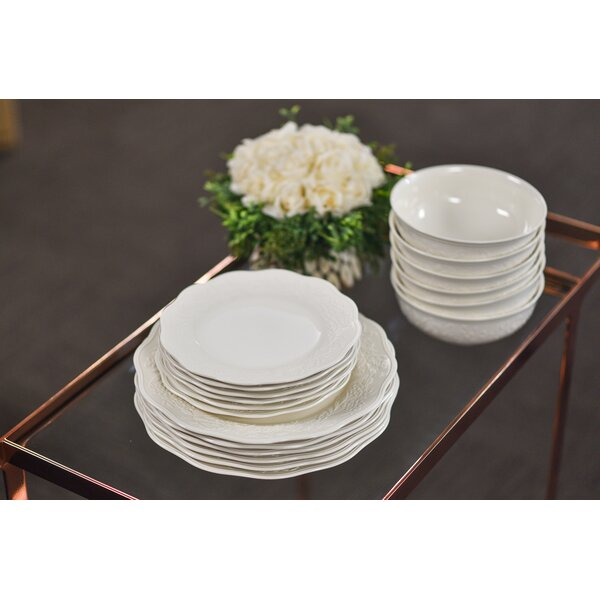Country Villa 18 Piece Dinnerware Set, Service For 6 by Red Vanilla