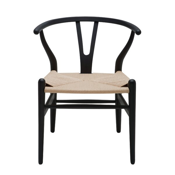 Solid Wood Slat Back Side Chair By Nuevo