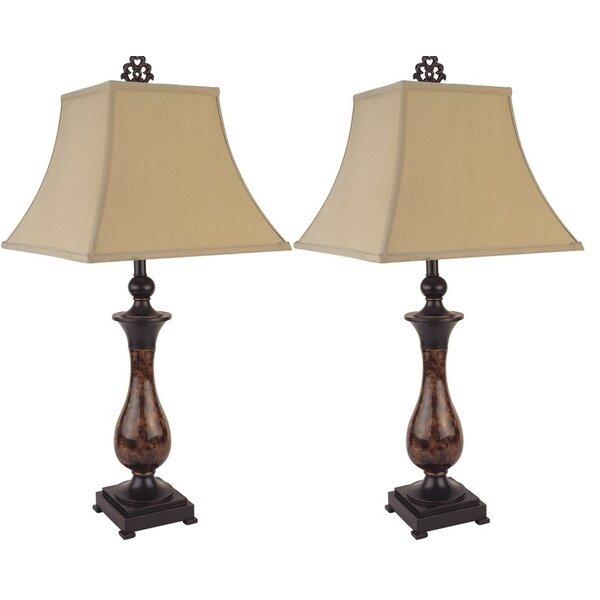 Centreville Antique Bronze 30 Table Lamp (Set of 2) by Fleur De Lis Living