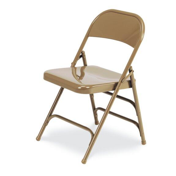 167 Series Metal Folding Chair (Set of 4) by Virco