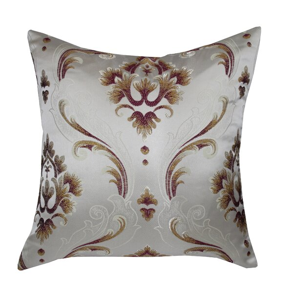 Boutique Luxurious Vintage Throw Pillow by Violet Linen