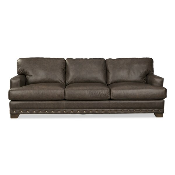 Best Discount Quality Winslow Leather Sofa by Craftmaster by Craftmaster