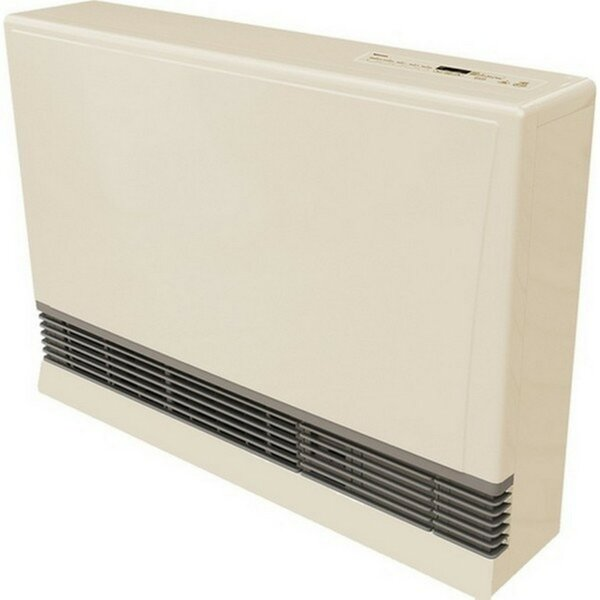 Rinnai R Series Direct Vent 117 Watt Wall Insert Natural Gas Fan Heater by Rinnai