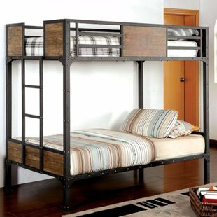 Harrell Twin over Twin Bunk Bed By Zoomie Kids