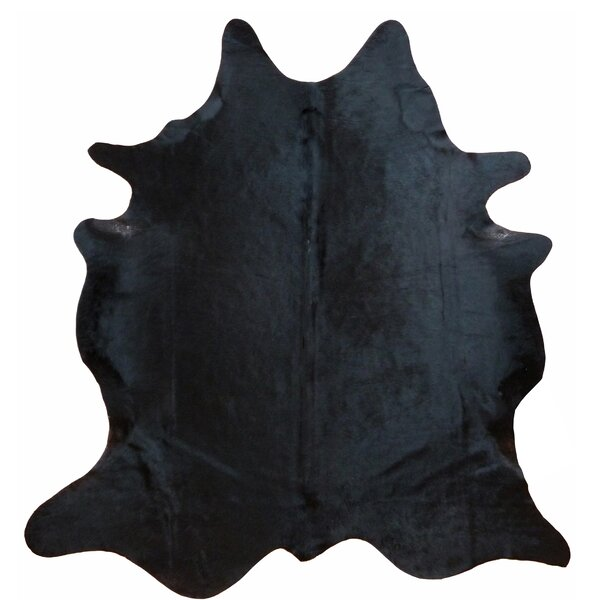 Glendale Brazilian Cowhide Natural Black Area Rug by Trent Austin Design