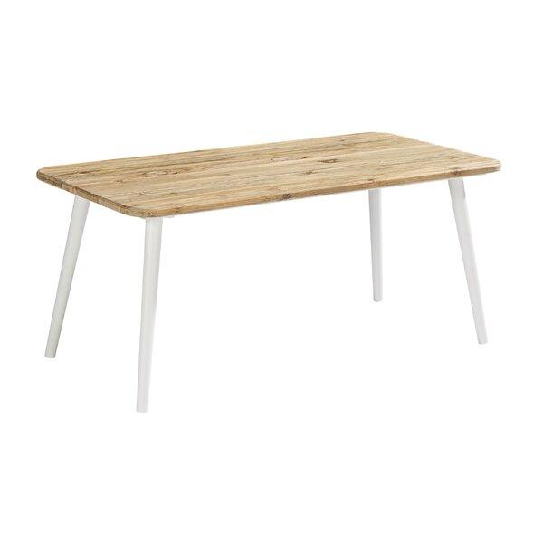 Asphodèle Solid Wood Coffee Table By Gracie Oaks by Gracie Oaks #1