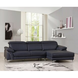 Amatia Leather Sectional