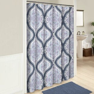 Best Price Fontaine Cotton Shower Curtain ByWorld Menagerie