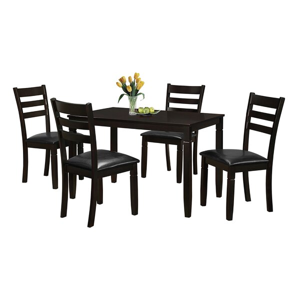 Felipe 5 Piece Dining Set by Latitude Run Latitude Run