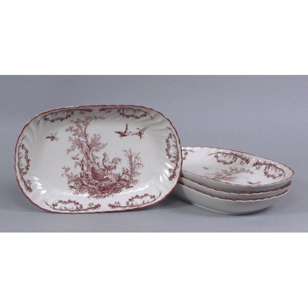 Polen Design Oval Platter by August Grove