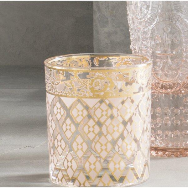 Patina Vie Quinn Rocks 15 oz. Glass (Set of 4) by Patina Vie