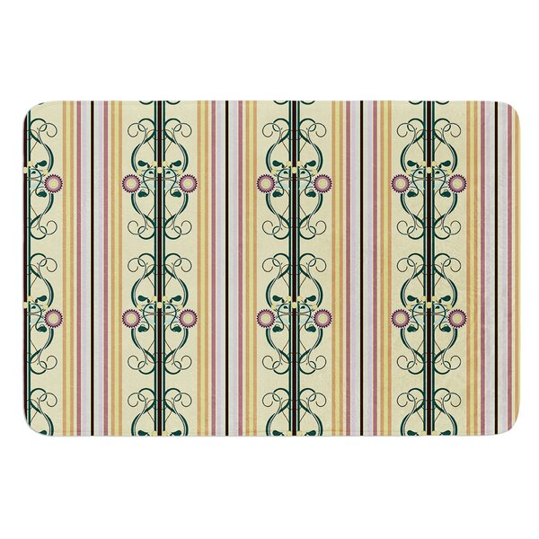Blooming Trellis by Mydeas Bath Mat by East Urban Home