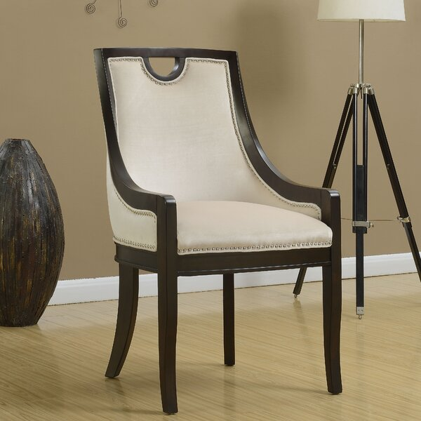 Adebay Nailhead Upholstered Dining Chair by Darby Home Co